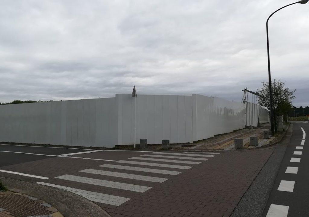 印旛日本医大東横インの着工前