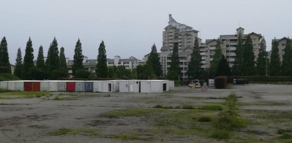 BigHopの駐車場の工事04