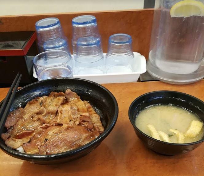 東京チカラめし焼き牛丼
